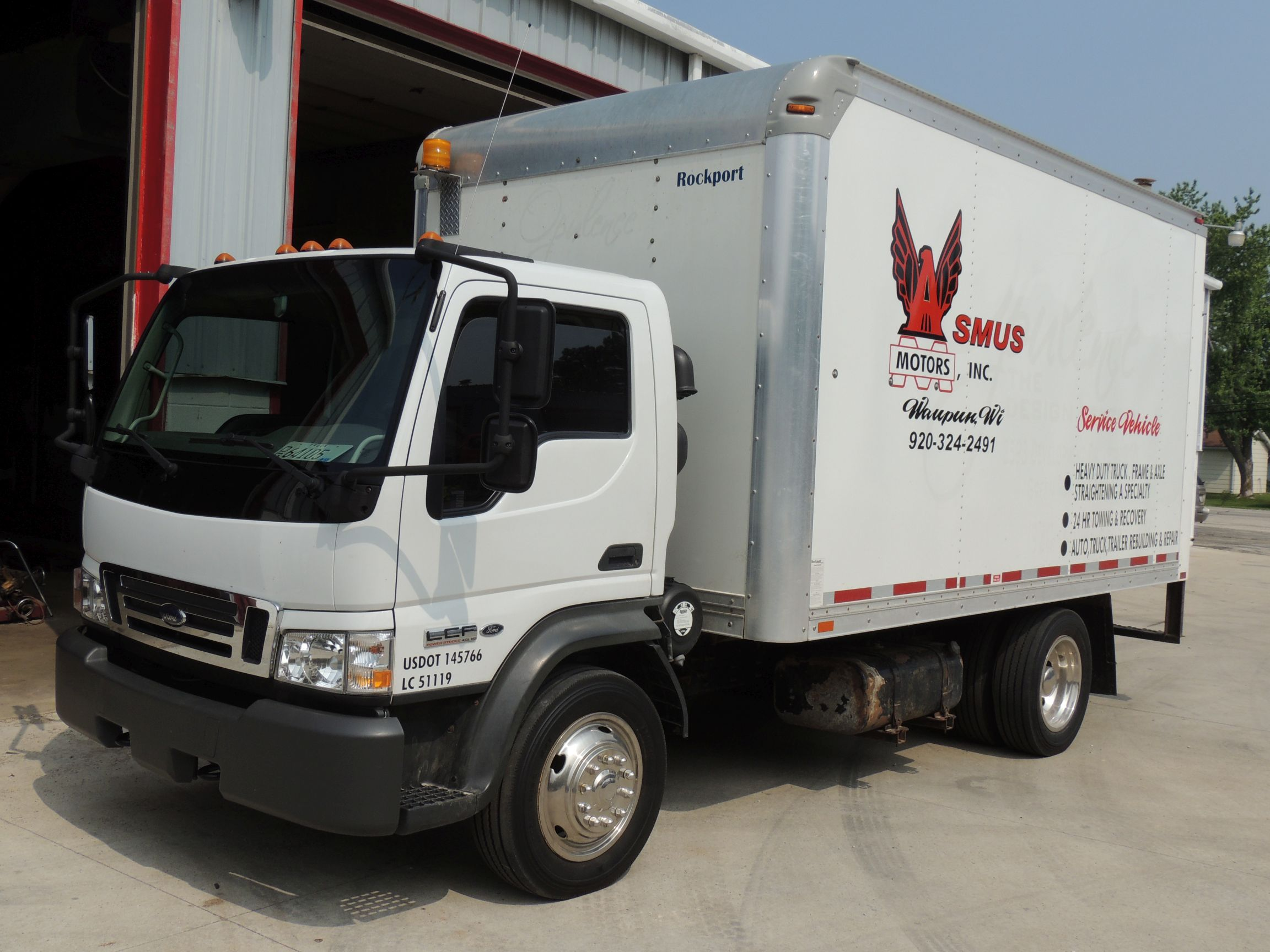 Ford Lcf Box Truck Is Your Car 2006 Fuse Location 2007 Source Service Trk Van Asmus Motors
